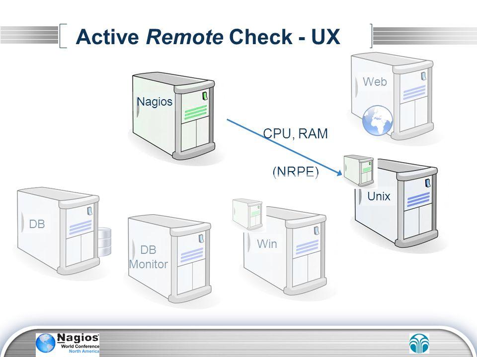 Active Remote Check - UX