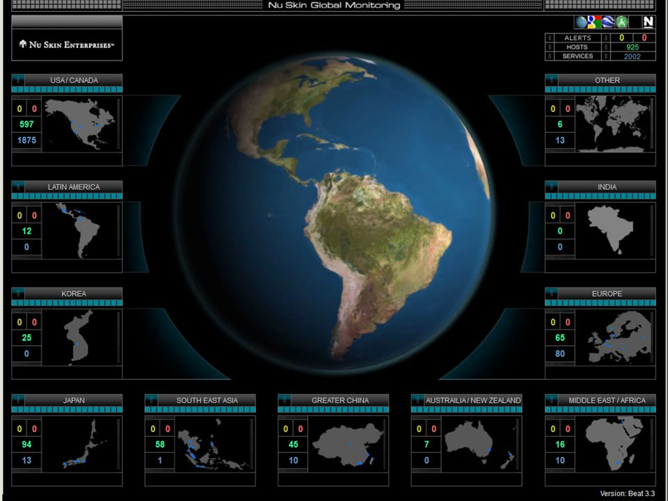 Data Centers in 7 Countries