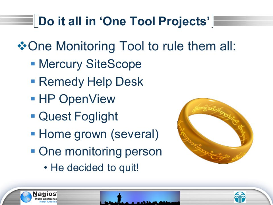 Do it all in 'One Tool Projects'
