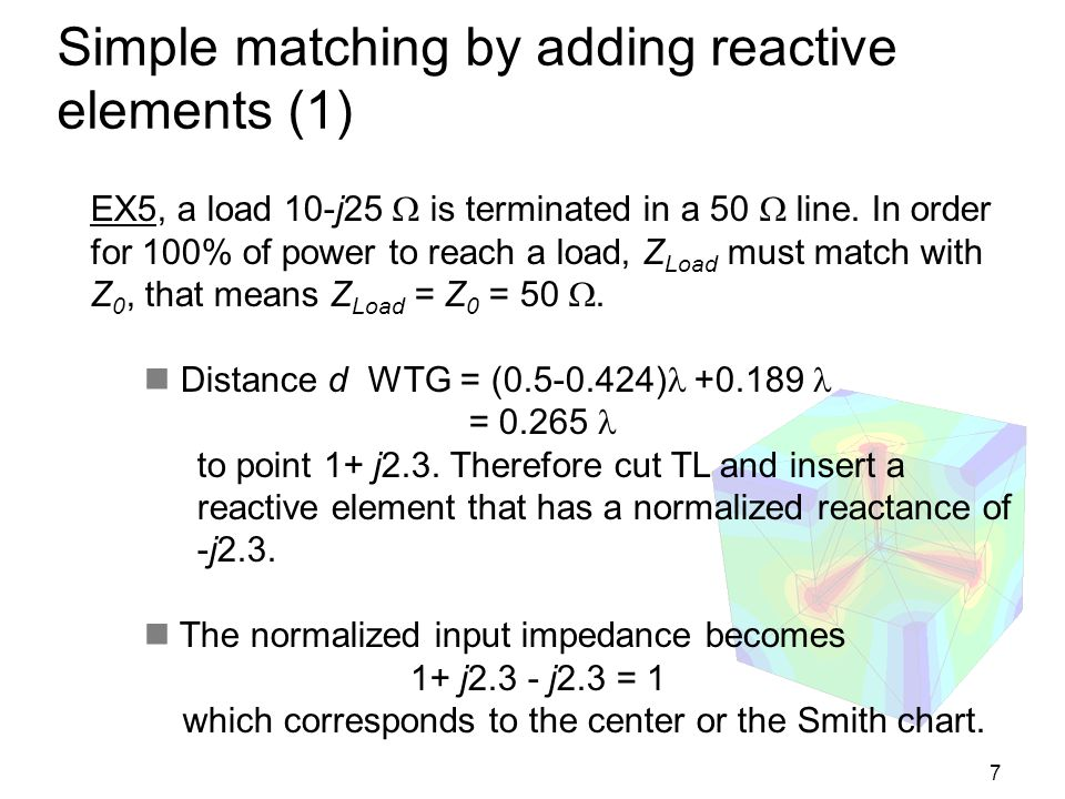 Simple matching by adding reactive elements (1)