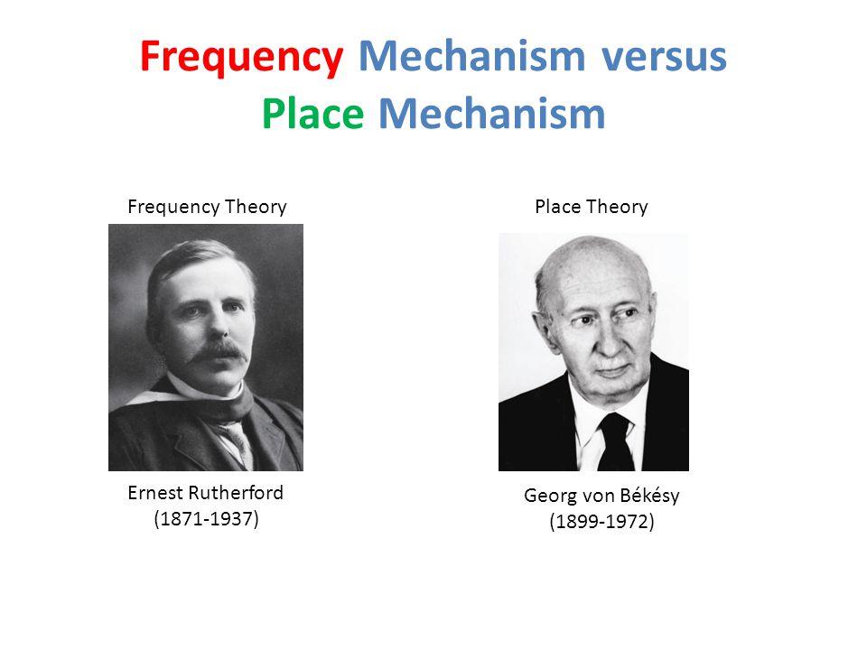 Frequency Mechanism versus Place Mechanism