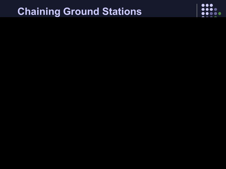 Chaining Ground Stations