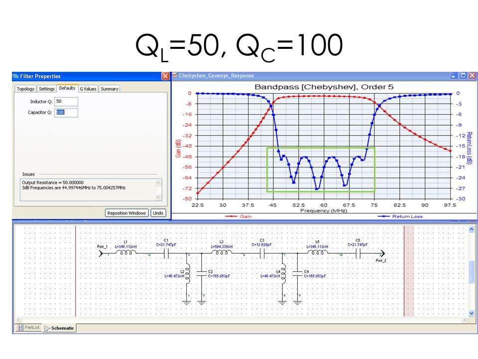QL=50, QC=100