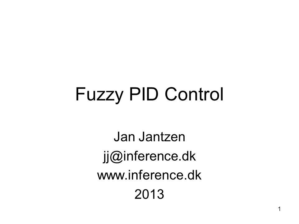 Jan Jantzen jj@inference.dk www.inference.dk 2013