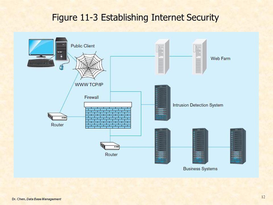 Figure 11-3 Establishing Internet Security