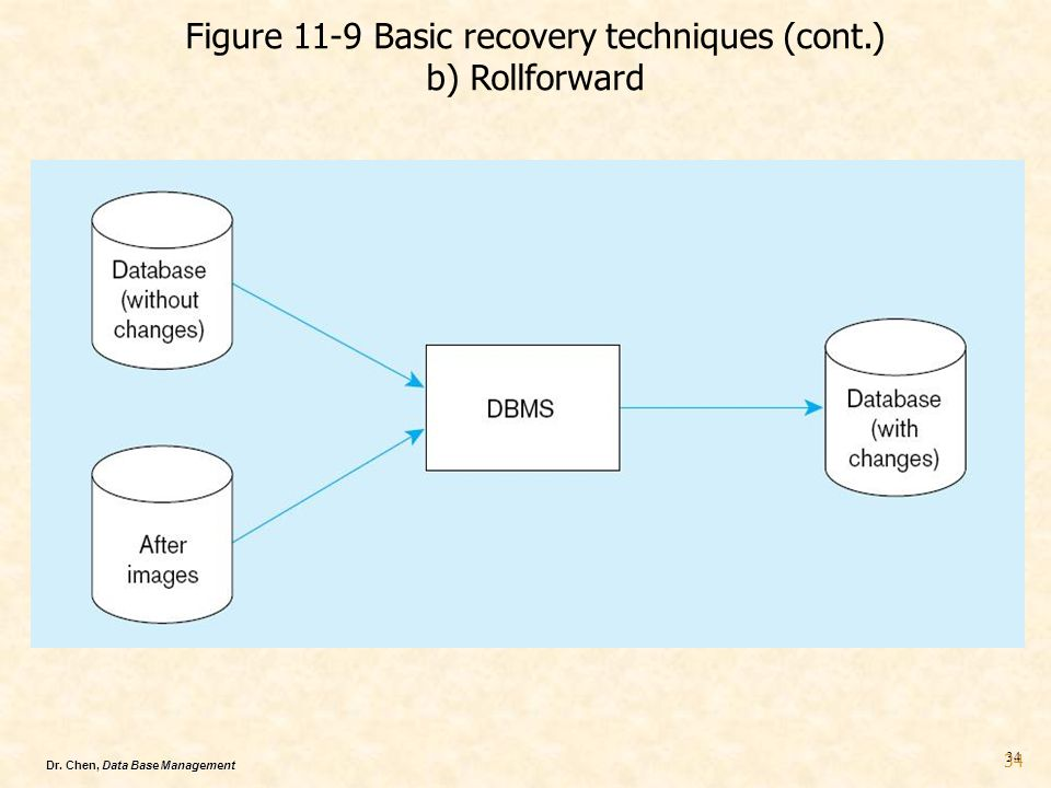 Figure 11-9 Basic recovery techniques (cont.)