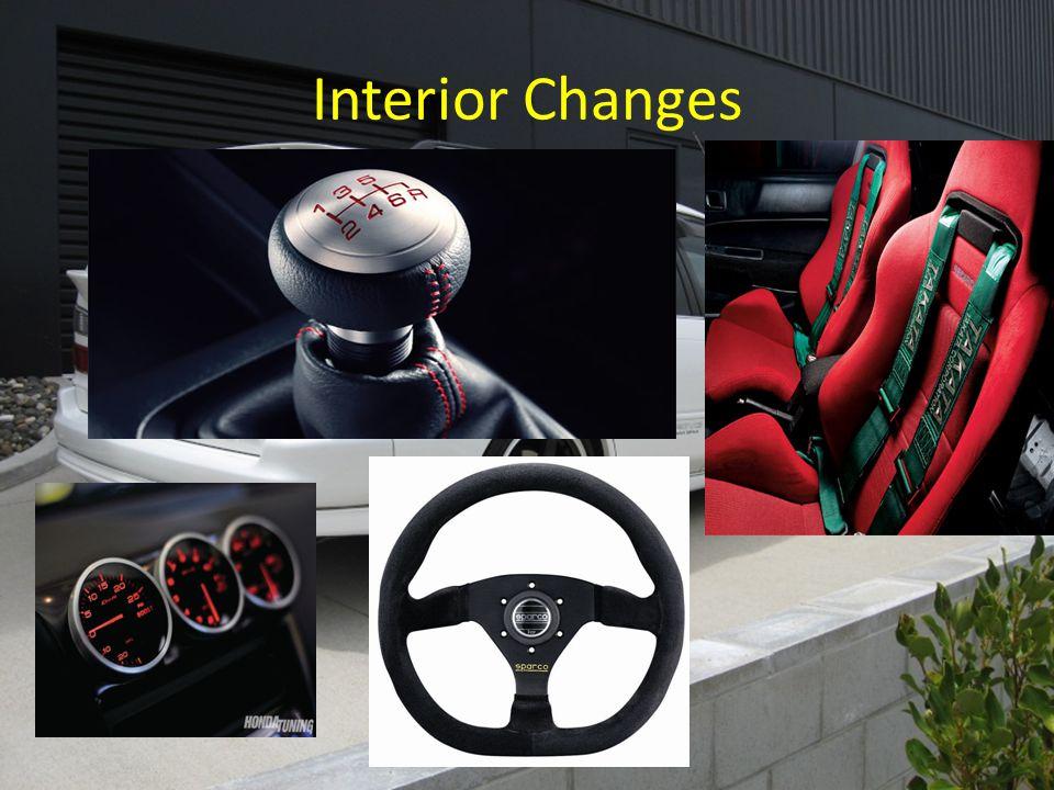 Interior Changes