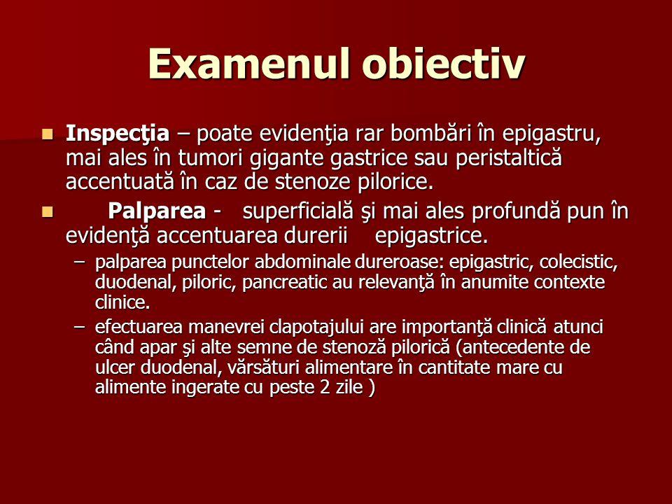 Examenul obiectiv