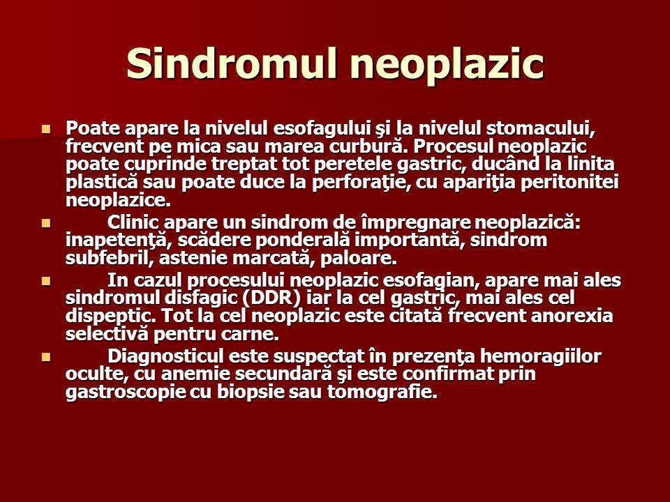 Sindromul neoplazic