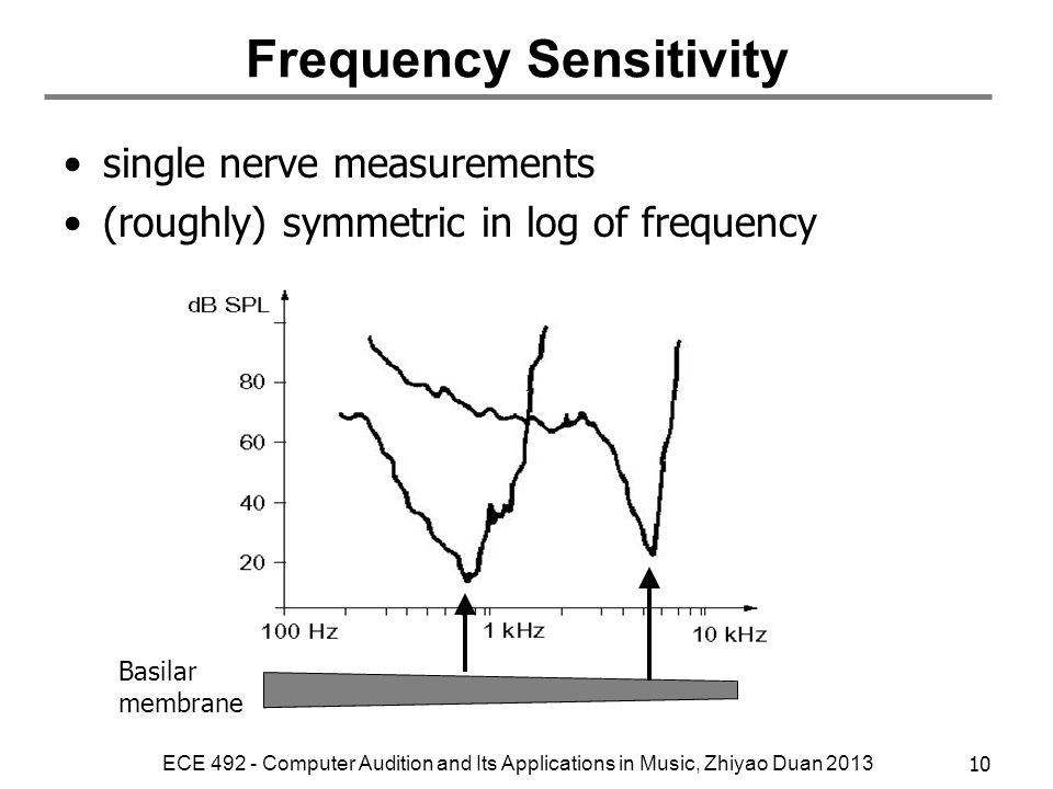 Frequency Sensitivity
