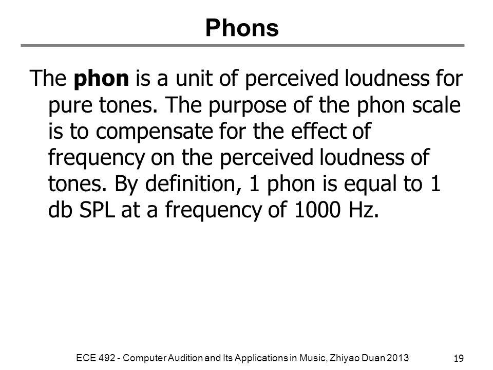 Phons