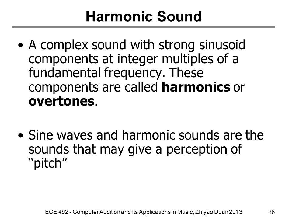 Harmonic Sound