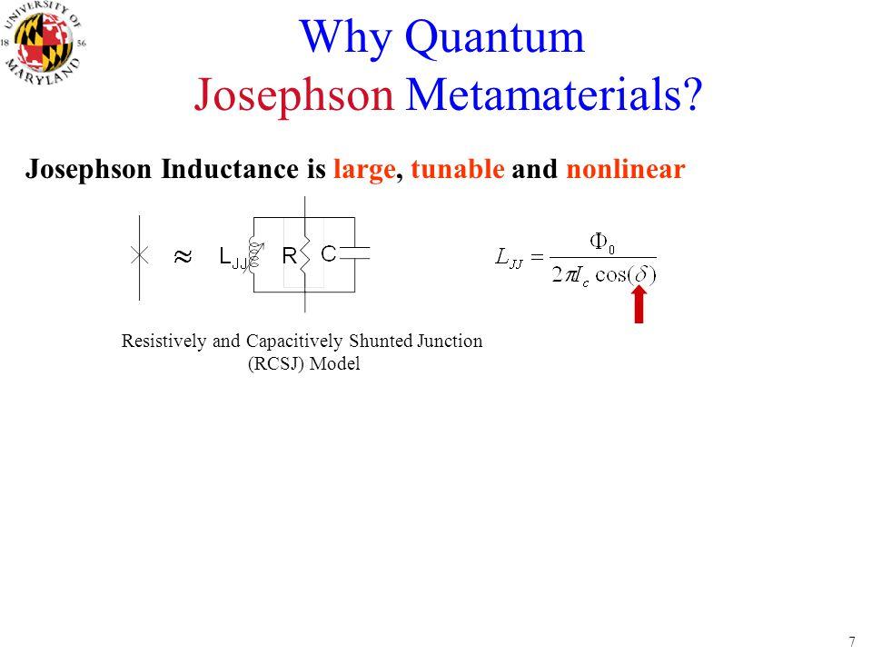 Josephson Metamaterials
