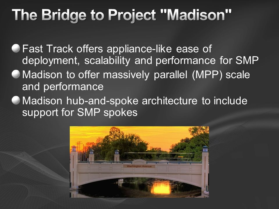 The Bridge to Project Madison