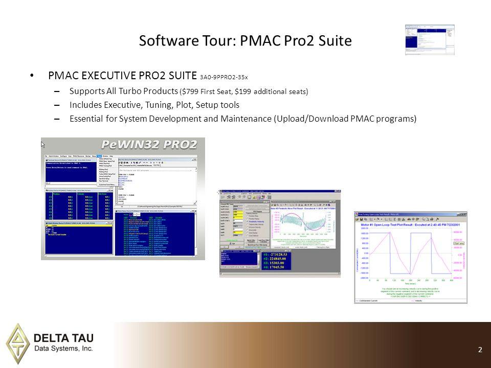 Software Tour: PMAC Pro2 Suite