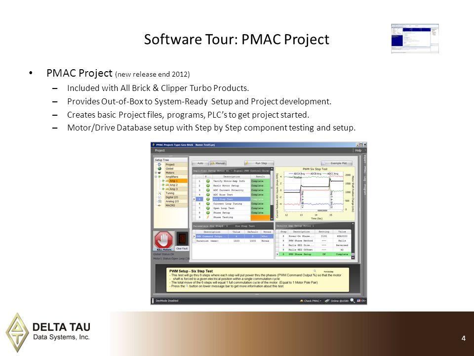 Software Tour: PMAC Project
