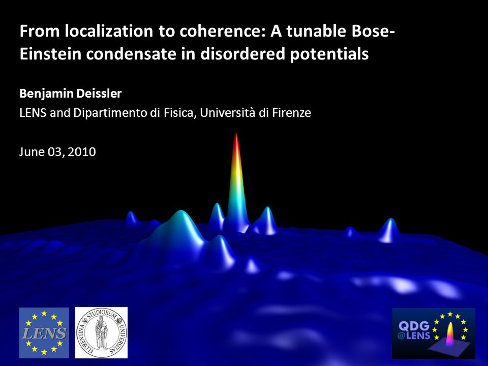 From localization to coherence: A tunable Bose-Einstein condensate in disordered potentials