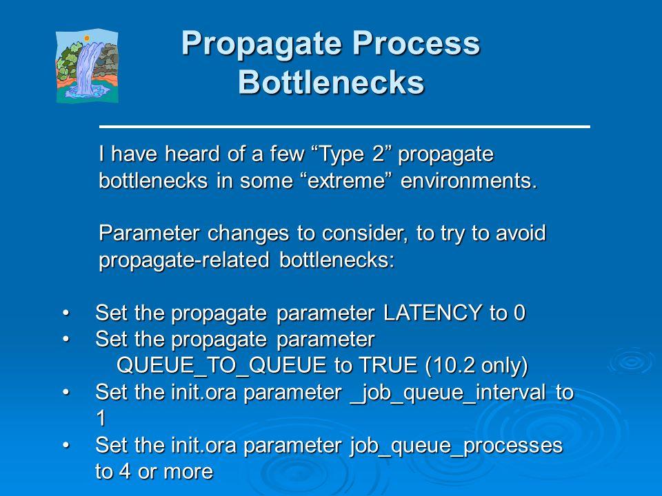 Propagate Process Bottlenecks