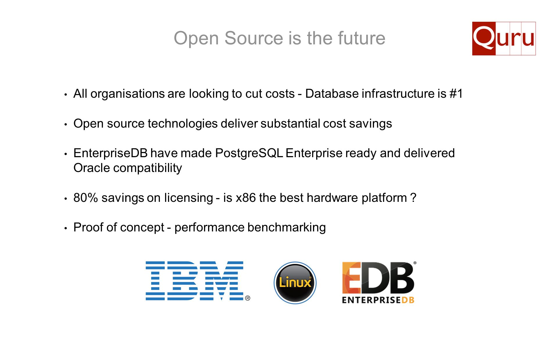 Open Source is the future