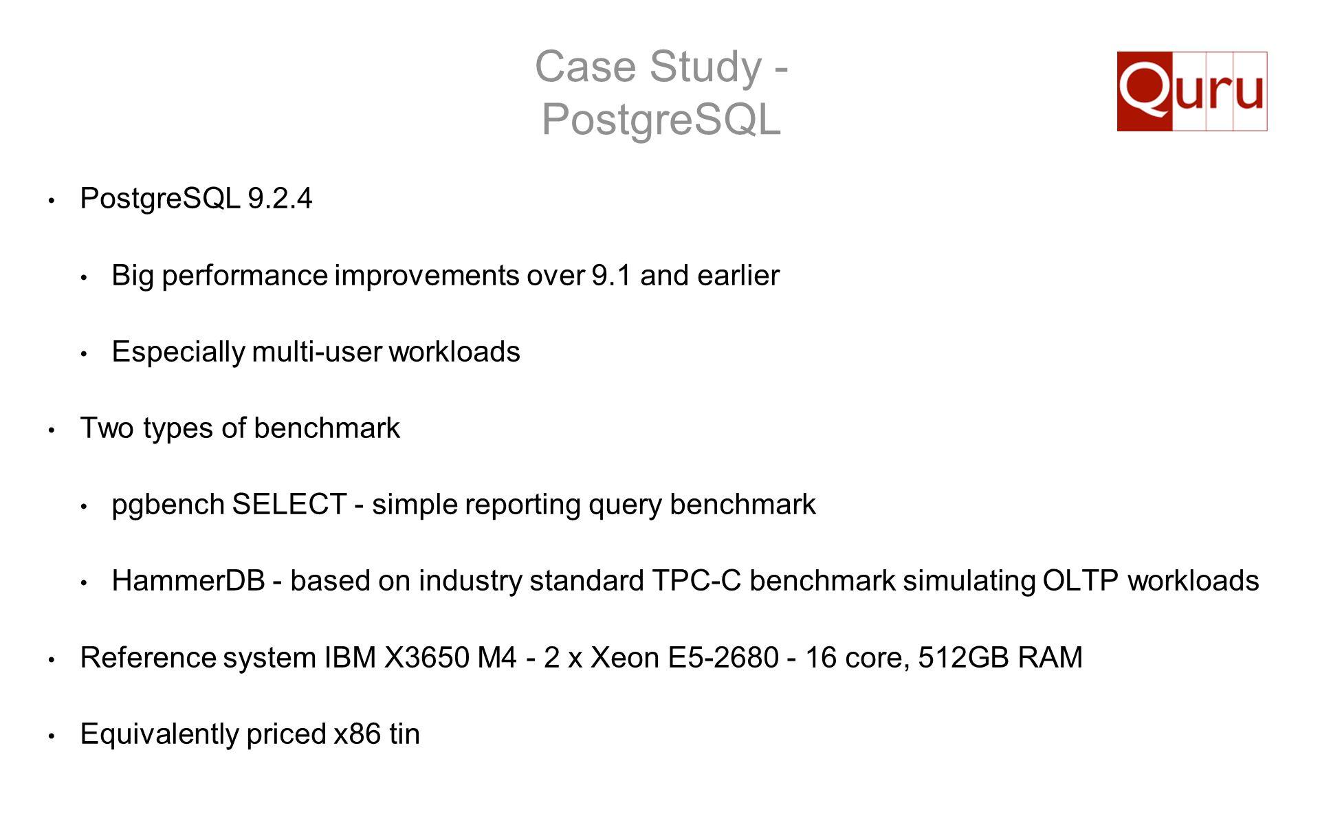 Case Study - PostgreSQL