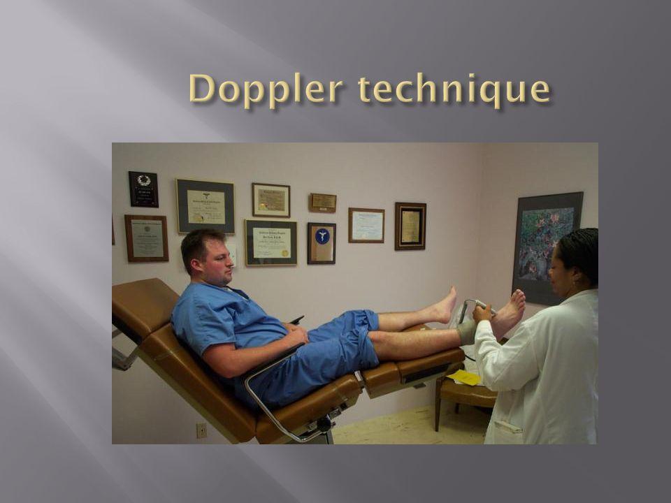 Doppler technique