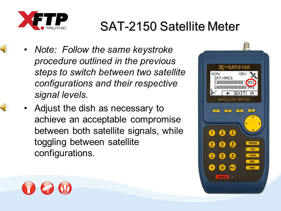 SAT-2150 Satellite Meter