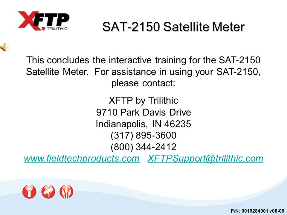 www.fieldtechproducts.com XFTPSupport@trilithic.com