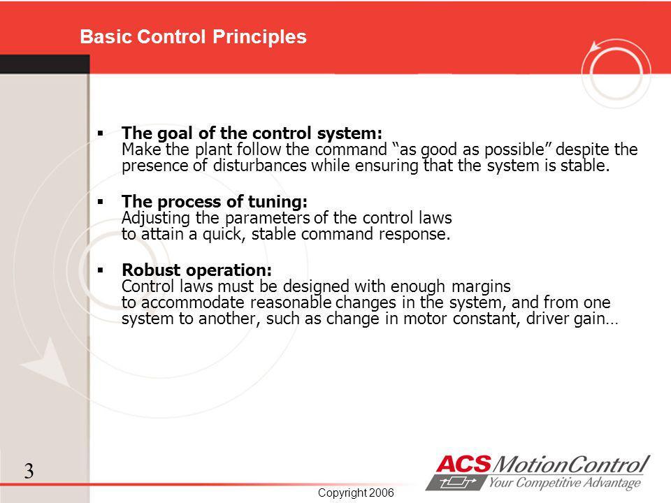 Basic Control Principles