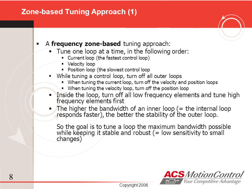 Zone-based Tuning Approach (1)