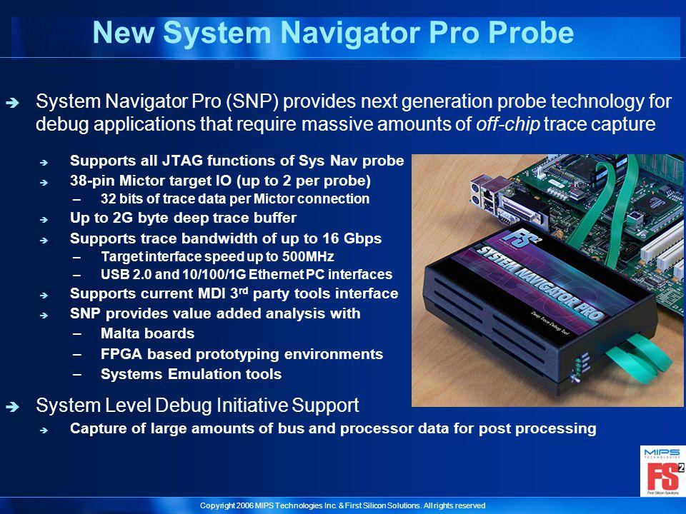 New System Navigator Pro Probe