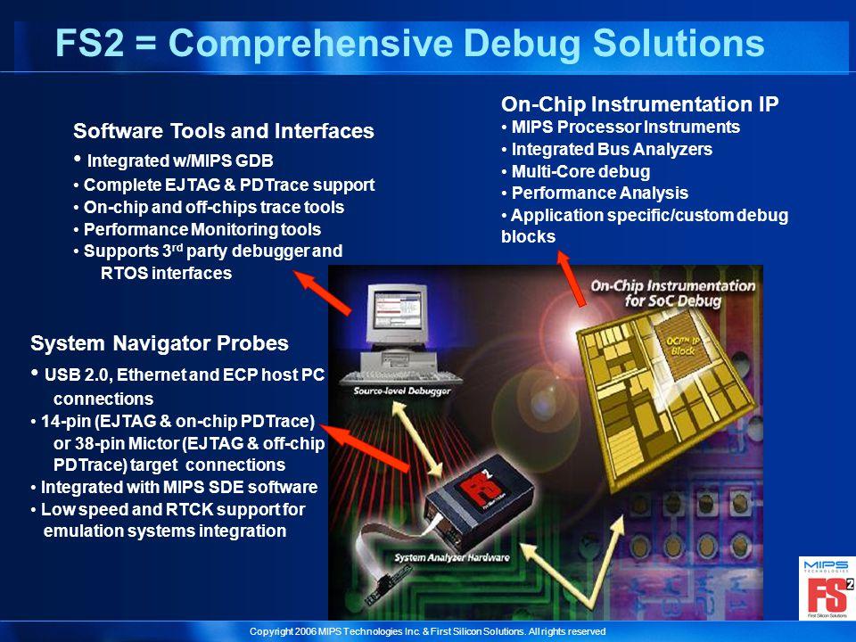 FS2 = Comprehensive Debug Solutions