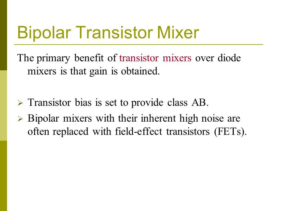 Bipolar Transistor Mixer