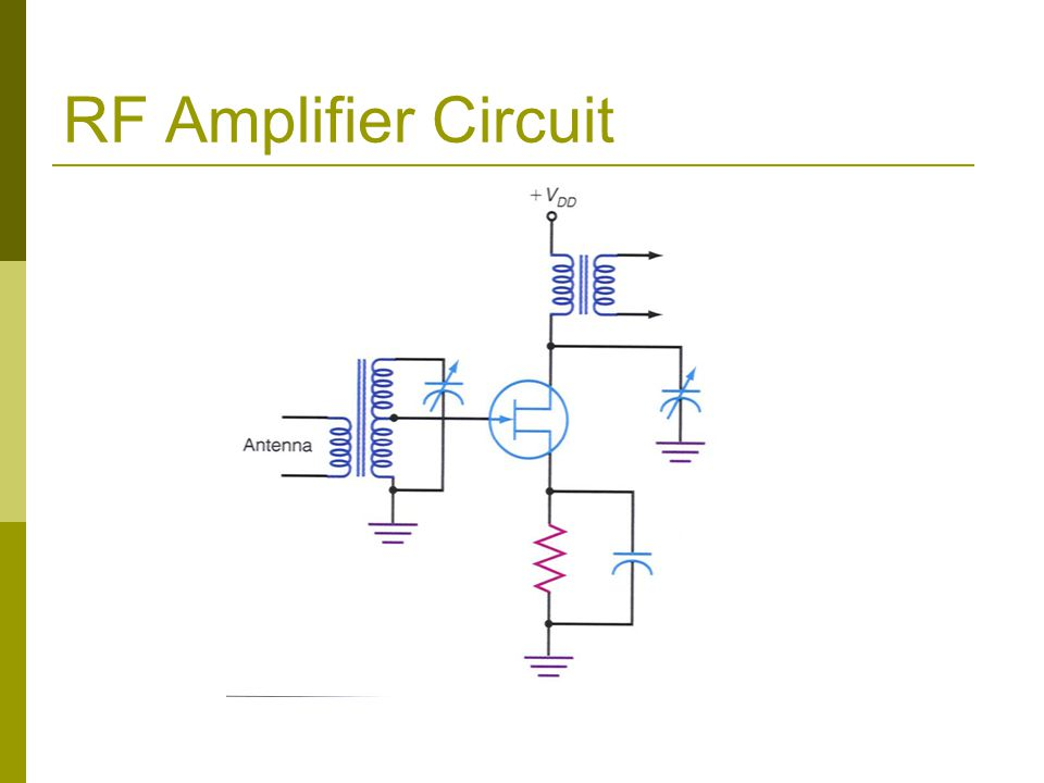 RF Amplifier Circuit