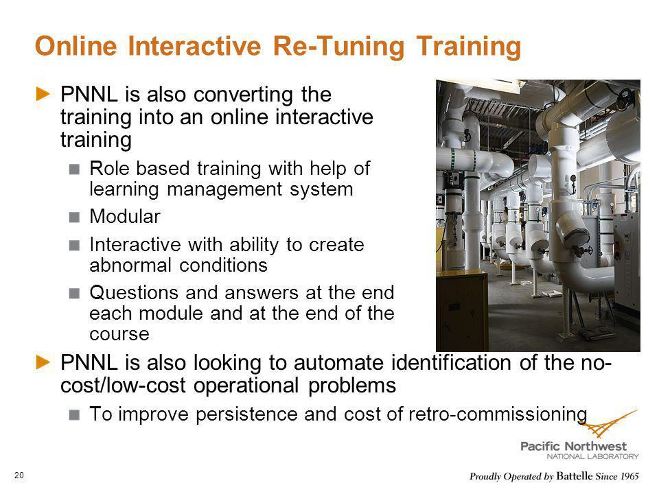 Online Interactive Re-Tuning Training