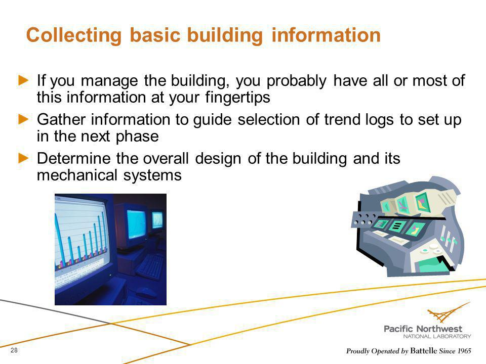 Collecting basic building information