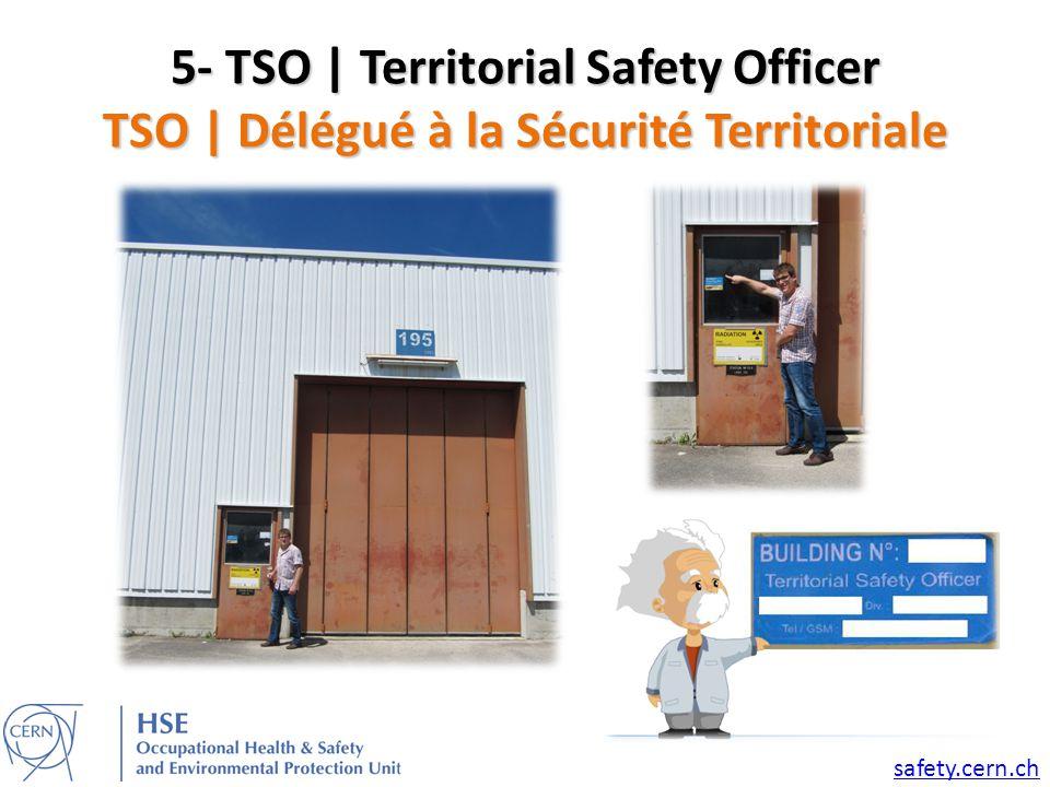 5- TSO | Territorial Safety Officer TSO | Délégué à la Sécurité Territoriale