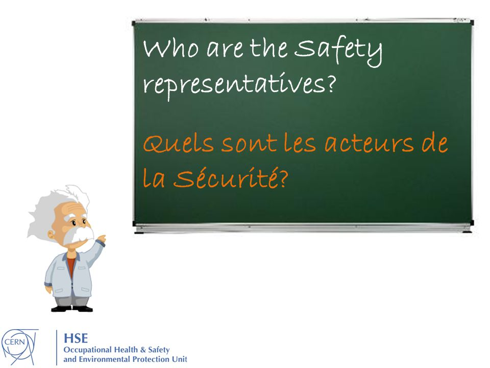 Who are the Safety representatives