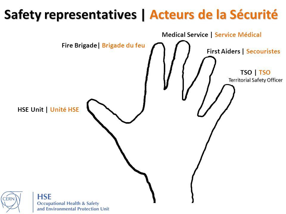 Safety representatives | Acteurs de la Sécurité