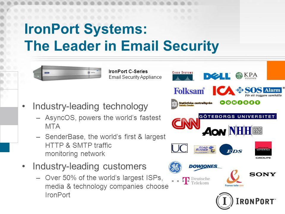 IronPort Systems: The Leader in Email Security