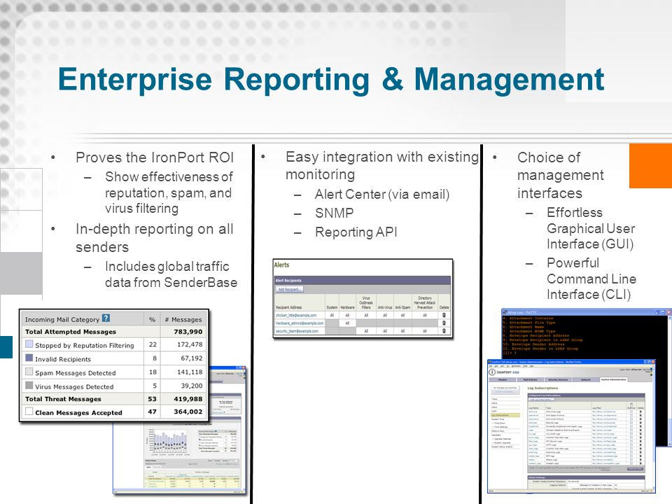 Enterprise Reporting & Management