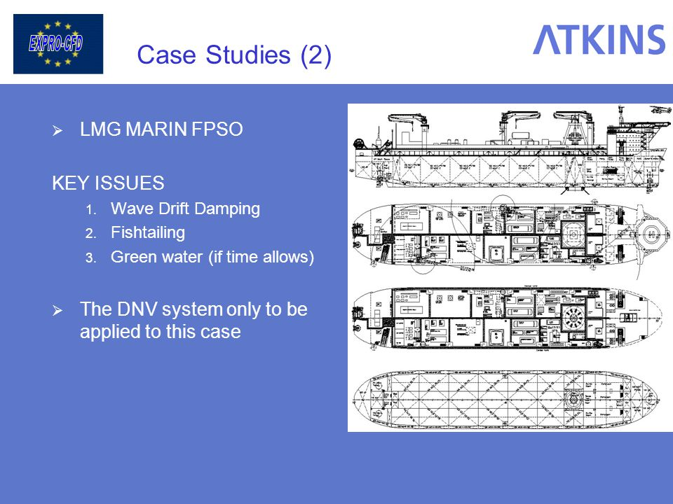 Case Studies (2) LMG MARIN FPSO KEY ISSUES
