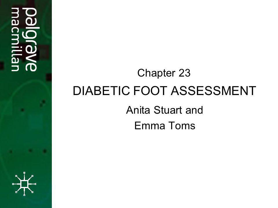 DIABETIC FOOT ASSESSMENT