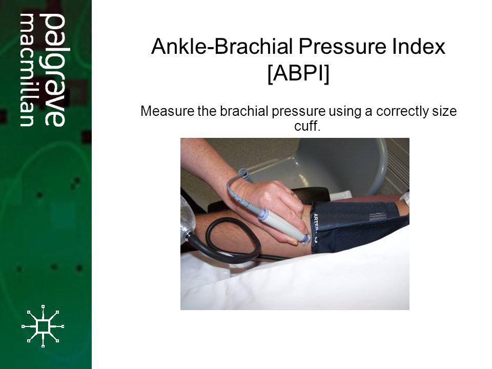Ankle-Brachial Pressure Index [ABPI]