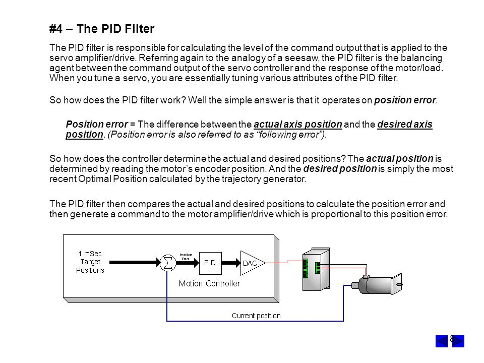 #4 – The PID Filter