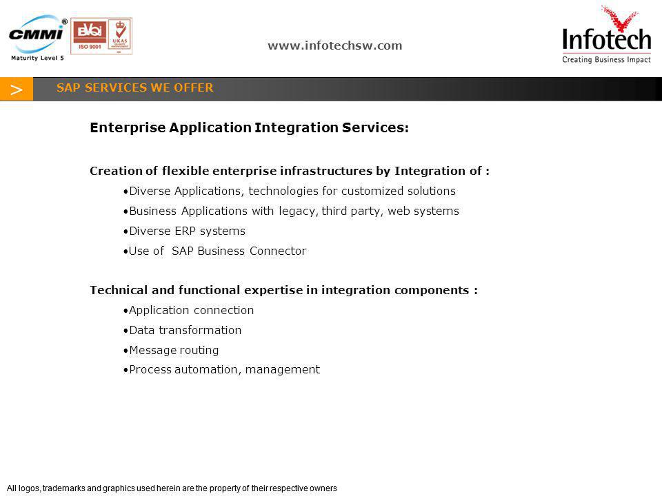 Enterprise Application Integration Services:
