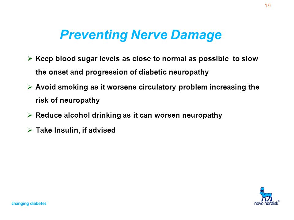 Preventing Nerve Damage