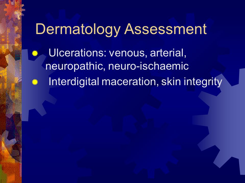 Dermatology Assessment