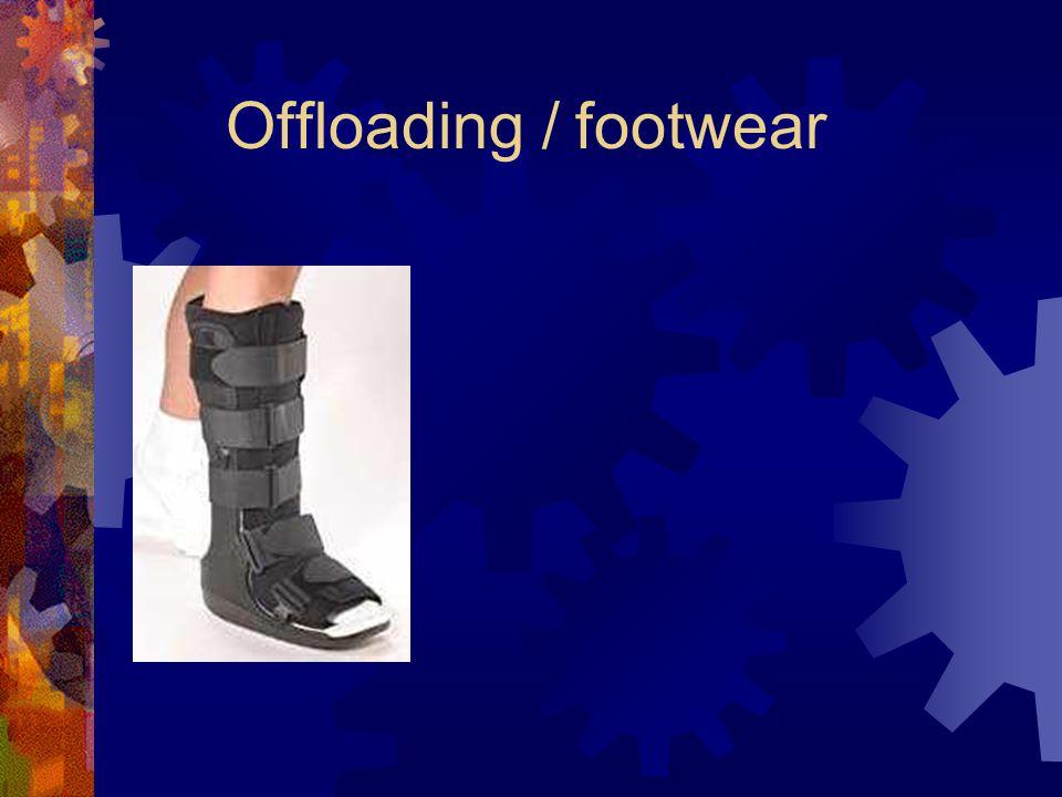 Offloading / footwear