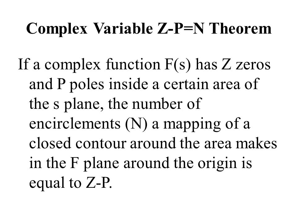 Complex Variable Z-P=N Theorem