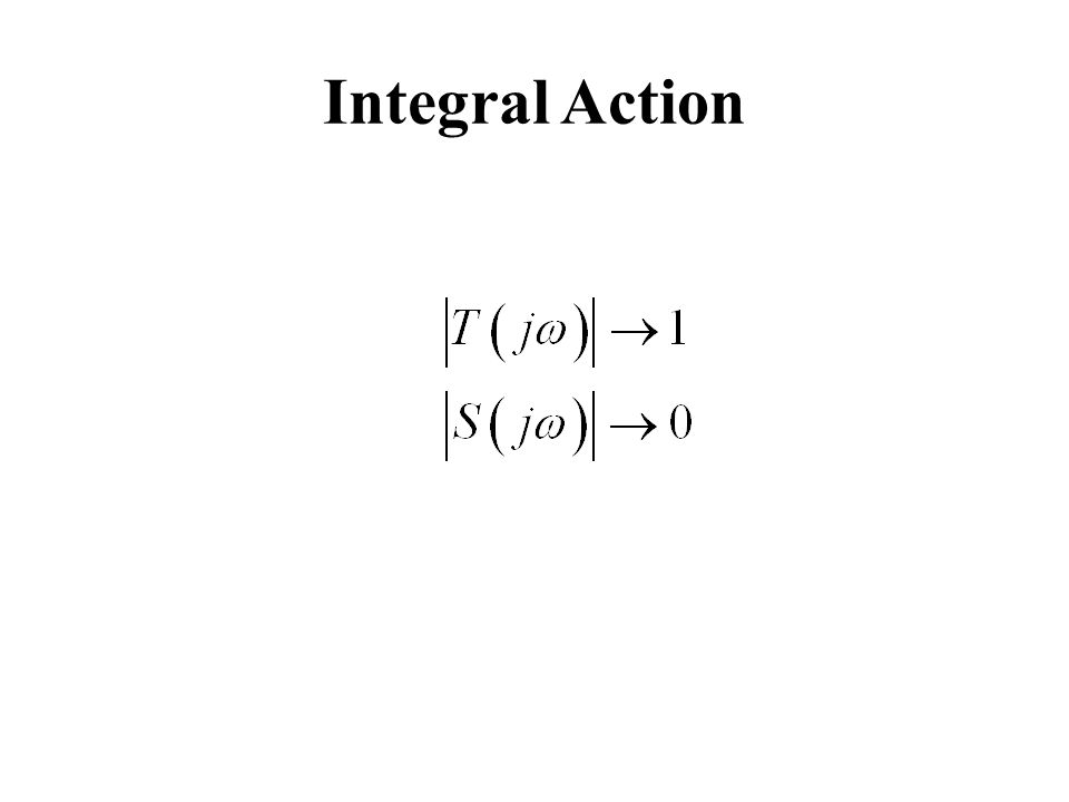 Integral Action